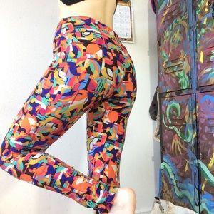 LuLaRoe Pants - Lularoe Rainbow Parrot Leggings Tropical Tucan